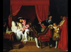 达芬奇之死 法国 安格尔.jpg