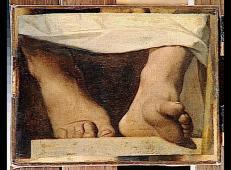 荷马神化,荷马的脚 法国 安格尔.jpg