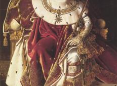 宝座上的拿破仑大帝 法国 安格尔.jpg