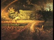 巴比松的春天 米勒.jpg